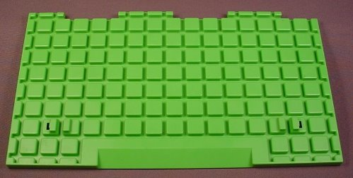 Playmobil 123 Green Base That Attaches To A Farm Barn, 9 1/2 Inches Long