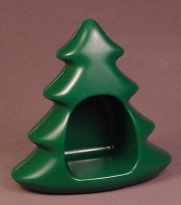 Playmobil 123 Dark Green Spruce Or Fir Tree With Opening, 4 Inches Tall, 5058 6772 6788