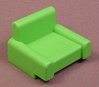 Playmobil 123 Green Easy Chair, Furniture, 6610 6802
