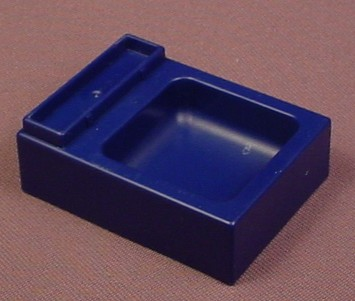 Playmobil 123 Dark Blue Shower Base Or Tray, 6784, 60 02 8930