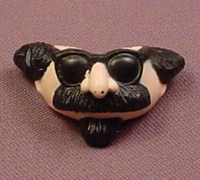 TMNT Detective Disguise Mask Accessory For A 1990 Don The Undercover Turtle