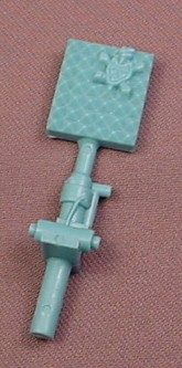 TMNT Blue Anti-Turtle Swatter Weapon Accessory For A 1989 Baxter Stockman Action Figure