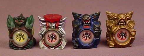 Jagun Fighters Lot Of 4 (C) Stone Fighter Pack, Iron Guardian, Power Eye Stones, Bandai