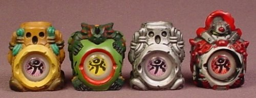 Jagun Fighters Lot Of 4 (A) Stone Fighter Pack, Iron Guardian, Power Eye Stones, Bandai