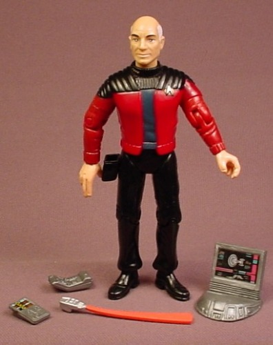 65eaa77a0c3fa Star Trek TNG Captain Jean-Luc Picard Action Figure With Accessories ...