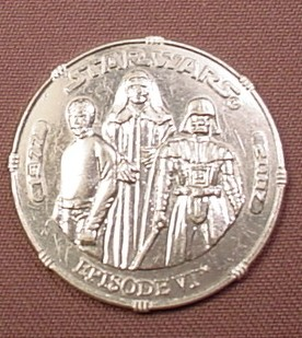 STAR WARS 30TH ANNIVERSARY COIN HASBRO FIGURE PACK IN EPISODE I
