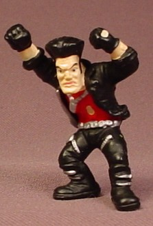 Micro Icons Punks #2 B-Zone PVC Figure, 1 3/4 Inches Tall, Series 1, 2004 X-Concepts