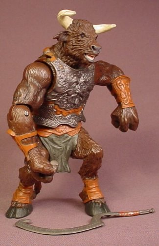 Disney The Chronicles Of Narnia Minotaur Rank-Breaker Action Figure With Weapon