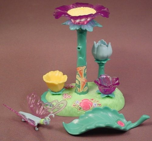 Barbie Fairytopia Magic Meadow Playset, Does Not Have The Fairy Figure, Mattel