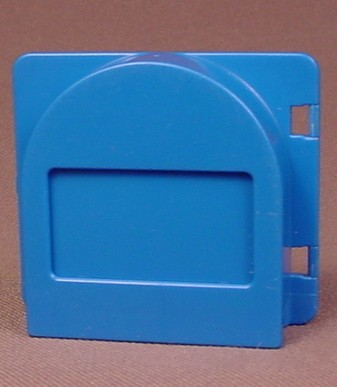 Lego Duplo 2230 Blue 1X4X2 Window With Raised Mail Slot, Has The 2231 Mailbox Flap