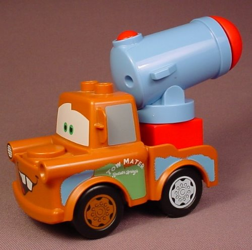 Lego Duplo Disney Pixar Cars Agent Mater Tow Truck With Cannon That Shoots A Cannonball