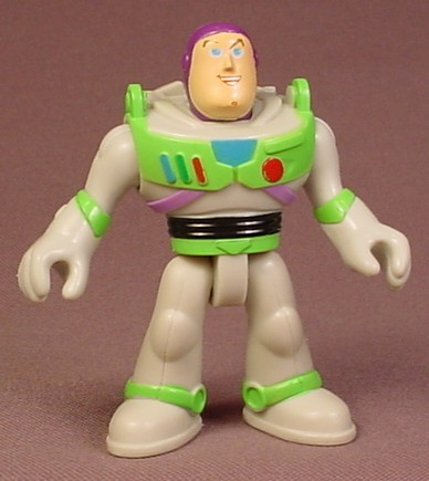 Fisher Price Imaginext Disney Toy Story Buzz Lightyear Figure, 2 3/8 Inches Tall