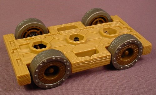 Fisher Price Imaginext Chassis With Wheels & 3 Hex Mounts For A 78437 Attack Wagon, 2003