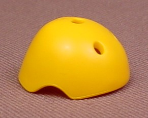 Playmobil Yellow Adult Size Skateboarding Helmet With 3 Vents, 4414 5798 5993, 30 26 4420