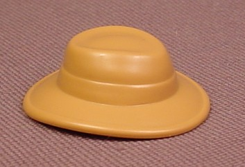 Playmobil Light Brown Or Tan Hat With A Wide Brim That Turns Down Slightly In The Front & Back