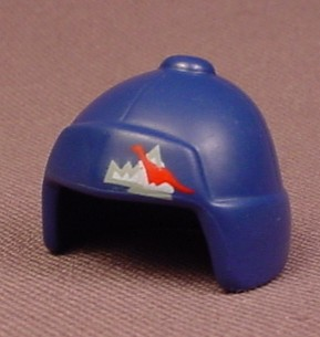 Playmobil Dark Blue Winter Hat With Ear Flaps And A Mountain Logo, 3192 3193 4076, 30 62 3532