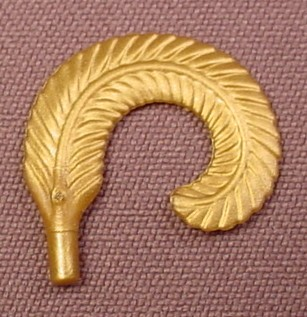Playmobil Gold Narrow Curled Feather, 3933, 30 02 6310