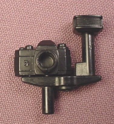 Playmobil Black Camera With Removable Flash Attachment, 3189 3364 3413 3414 3738 4064 5753 5759