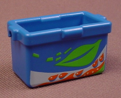 Playmobil Blue Cooler Box With A Leaf Design, 4862, 30 64 9382