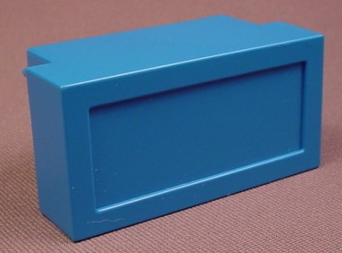 Playmobil Blue Slide In Cupboard With A Solid Face For A Wall Unit, 4324 5923 5941 6442 7464