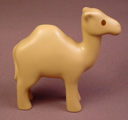 Playmobil 123 Tan Or Light Brown Camel Animal Figure, 6744, 3 1/4 Inches Tall, 60 64 3330