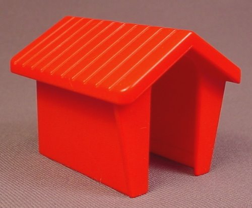 Playmobil 123 Red Doghouse, 6551, Dog House