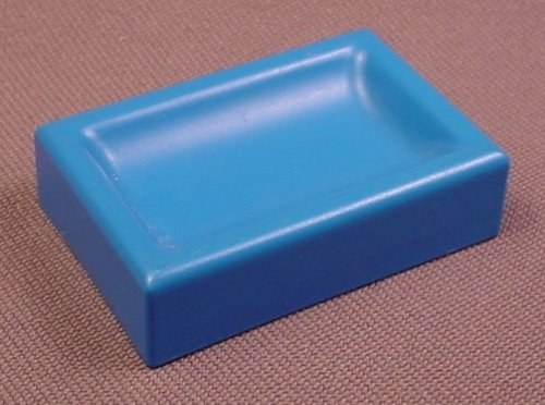 Playmobil 123 Blue Feeding Trough Or Pet Food Dish, 5058 6551 6601 6609 6750 6754 6765 6788 6796