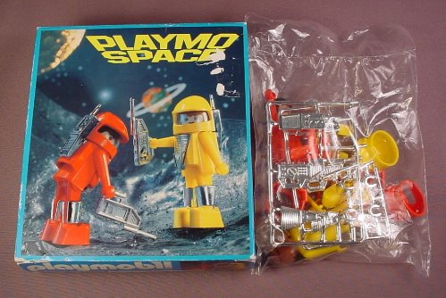 Playmobil 3590 Playmospace Space Explorers Set With The Box & Sealed In The Original Bag
