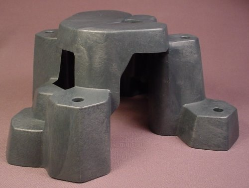 Playmobil Dark Gray Rock Formation With A Cave & Steps, Has A Window Like Opening, 4172 5626