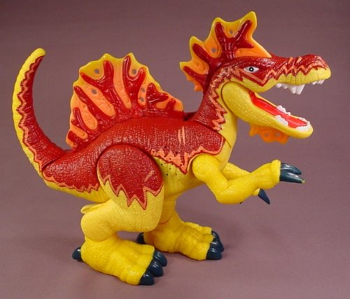 Fisher Price Imaginext Ripper The Spinosaurus Dinosaur, 10 Inches Tall, Makes A Roaring Sound