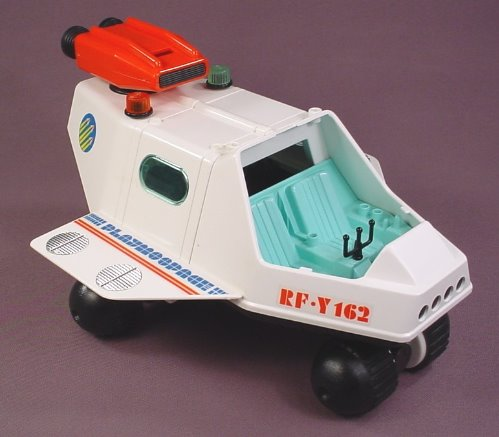 Playmobil 3534 Space Shuttle Vehicle With An Opening Door & A Rocket Booster That Rotates