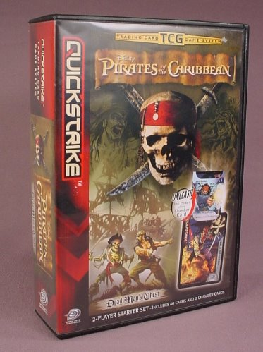 Disney Pirates Of The Caribbean Quickstrike Trading Card Game, 2 Player Starter Set With 60 Cards