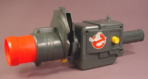Ghostbusters Ghost Zapper Projector, Missing The Bulb So It Doesn't Light Up, Does Not Have A Reel
