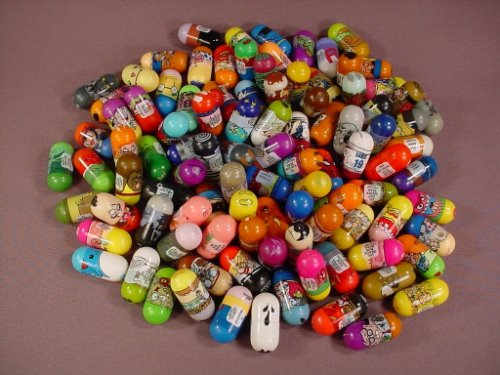 Mighty Beanz Mixed Lot Of 100, Group A, In Used Condition With Some Rubs Or Marks, Jumping Beans