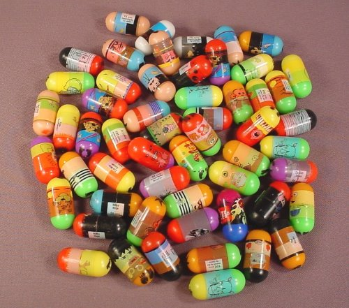Mighty Beanz Mixed Lot Of 55 Made By Jeremy's Toy Box, In Used Condition With Some Rubs Or Marks