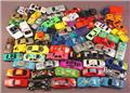 Lot Of 60 Metal & Plastic Toy Cars & Trucks, Group A, They Do Not Have Any Manufacturers Name