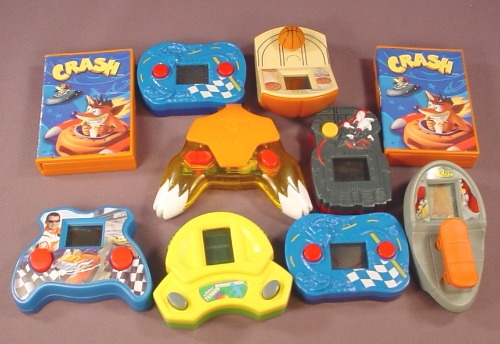 Lot Of 10 Handheld Electronic Games From McDonalds & Other Fast Food Restaurants