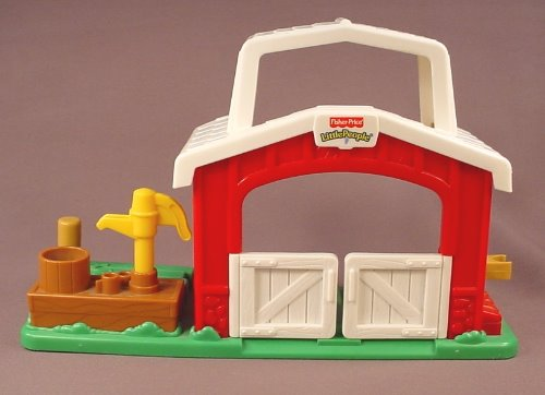 Fisher Price Little People 2001 77707 Horse Stable Barn Rons
