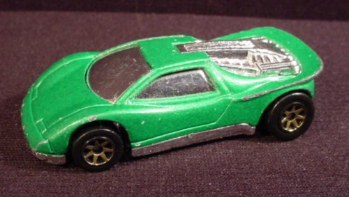 Hot Wheels 1990 Speed Blaster Metallic Green With G7Sp's