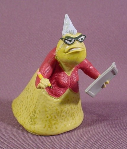 Disney Monsters Inc Roz PVC Figure, 2 1/2