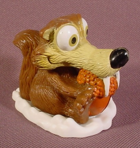 Toys From Ice Age 1 : Ice age rolling scrat with acorn toy quot tall fox