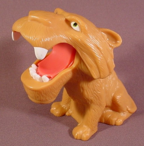 Toys From Ice Age 1 : Ice age diego the sabertooth tiger plastic toy figure
