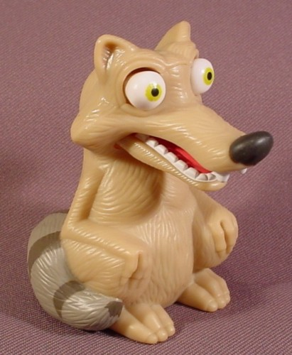 Toys From Ice Age 1 : Ice age scrat the squirrel plastic toy figure quot tall