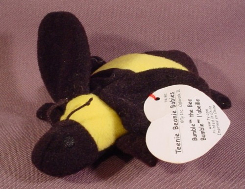 Mcdonalds Ty Teenie Beanie Babies Bumble The Bee 1999 Ty