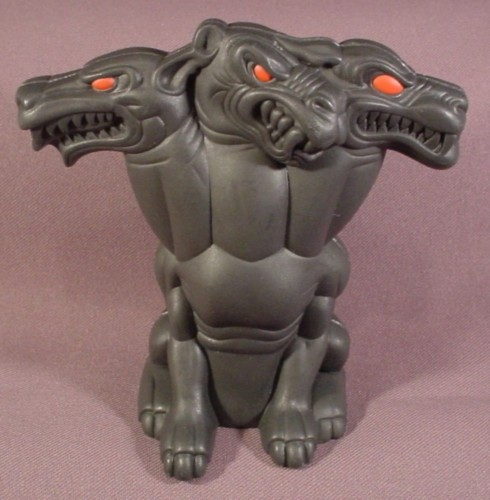 Mcdonalds 1996 Hercules 2 Piece Cerberus Titan Case For Hades Figure 5