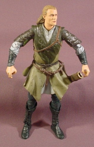 """Lord Of The Rings Legolas Action Figure, 6 3/4"""" Tall, 2002 ..."""
