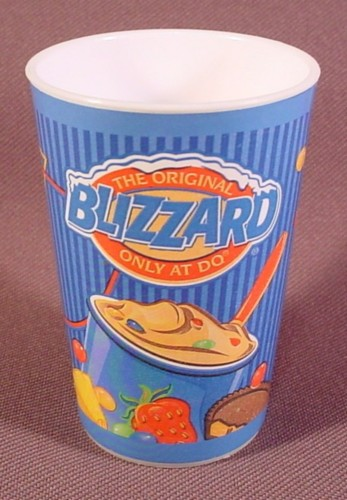 "Dairy Queen Miniature Blizzard Cup, 2 5/8"" Tall, 2003 ...