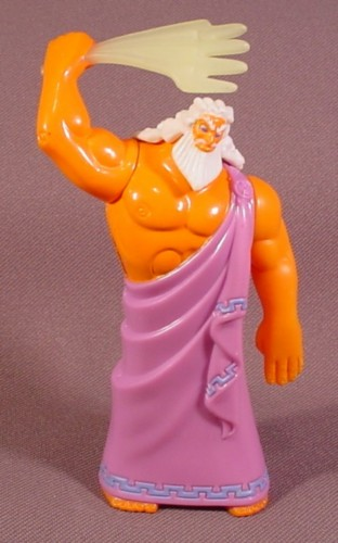 Toys For Hercules : Mcdonalds zeuss figure quot tall rons rescued