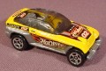 Hot Wheels Dcc Jeepster Concept Car, Yellow