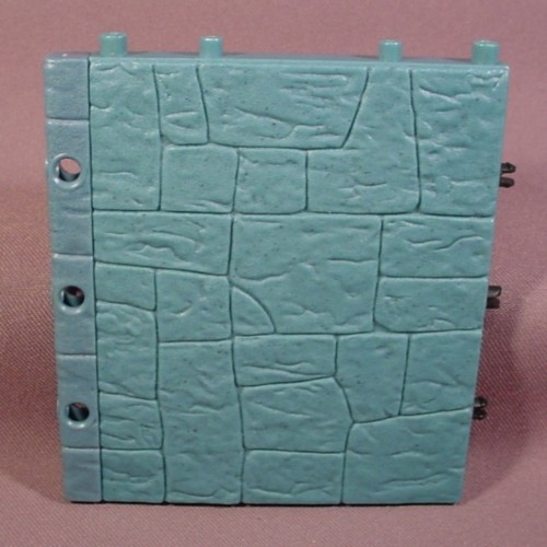 Fisher Price Imaginext Blue Stone Castle Wall, 78333 Battle Castle, 78331 Wizard's Tower